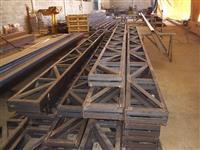 estrutura metalica 12.00 x 48.00 mts = 576 m2