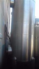 Vaso em aço carbono para uso como abrandador, filtro de água diâmetro de 1,10 metros, chapa de 5 mm