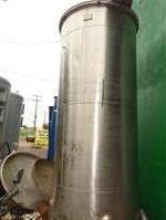 Tanque em aço inox 316, vol 10000 litros para armazenagem, vertical ou horizontal