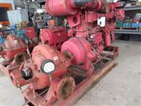 Moto Bomba motor Cummins  Diesel  900m³ - Alta pressão - Wortington  8 LN -18