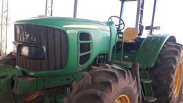 Trator John Deere 6125 4x4 ano 12