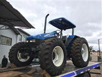 Trator New Holland TL 90 4x4 ano 04
