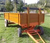 Carreta 4 rodas para trator agricola