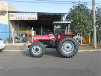 Trator Massey Ferguson 265 4x4 ano 01