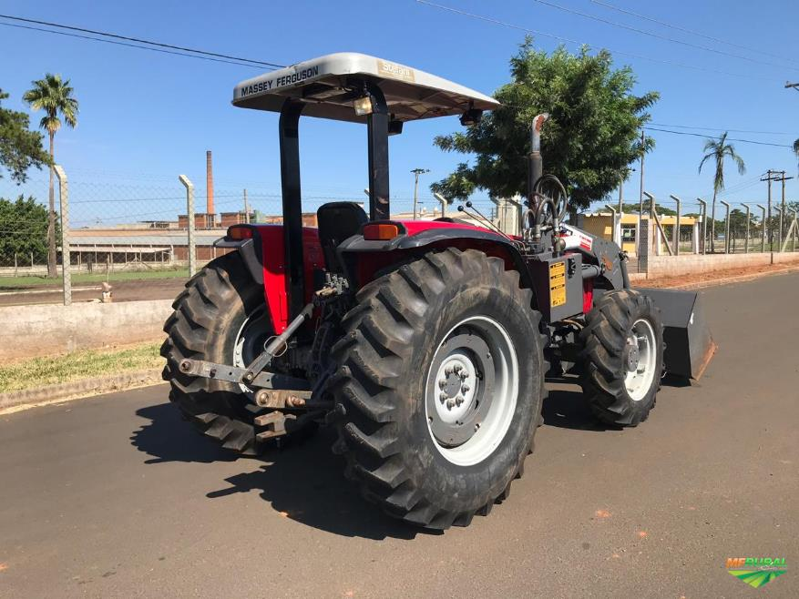 Trator Massey Ferguson 283 Advanced 4x4 ano 09