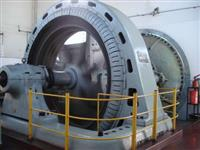 Gerador baixa rotação 2000 kva em 180 rpm, marca GE.