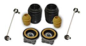 Kit de amortecedores completos para todas as marcas e montadoras, automóveis e utilitários