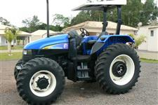 Trator New Holland TS 110 4x4 ano 04