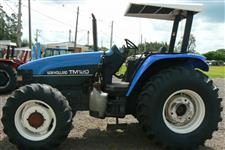Trator New Holland TM 120 4x4 ano 01
