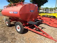 Carreta Tanque Agrícola 4500 litros marca Sollus c/ Pneus nova