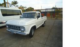 GM Chevrolet C14 com motor Diesel da D10 Ano 1972 – Cor branca