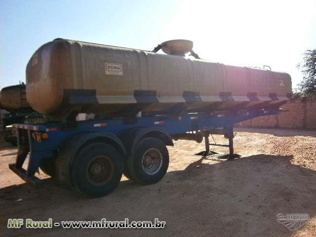 Semi reboque rodofort, ano 2010 com tanque de 30.000 litros