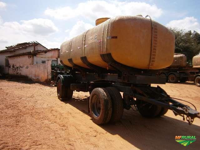 Reboque Facchini, tanque EDRA 2005 com capacidade para 16.000 mil litros
