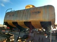 Tanque para transporte de vinhaça