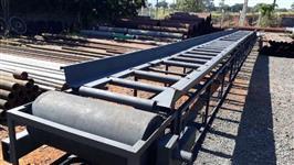Esteira Transportadora  20 metros de comprimento  1 metro metro largura útil
