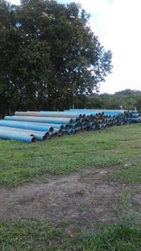 Tubos para irrigação de 250 mm  Pn 60 Amanco e Tigre
