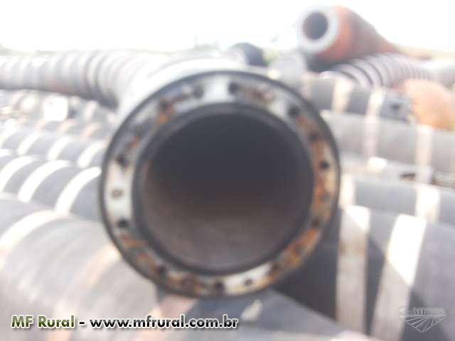 Mangotes de borracha . tubos de aço carbono , arame galvanizado tanques