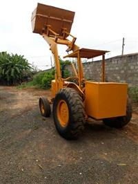 Trator Pá Carregadeira Pa Pula Pula Massey Ferguson 65 R Material Construçao