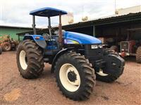 Trator New Holland TS 6020 4x4 ano 09