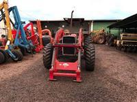 Conjunto de Lâmina e Concha para Trator Massey Ferguson 4x4