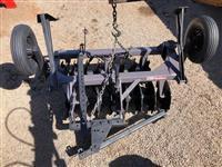 Grade Aradora 16 discos Baldan com Pneus Transporte