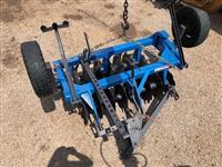 Grade Aradora Baldan 16 Discos c pneus trasnporte