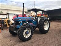Trator Ford 7610 4x4 ano 90