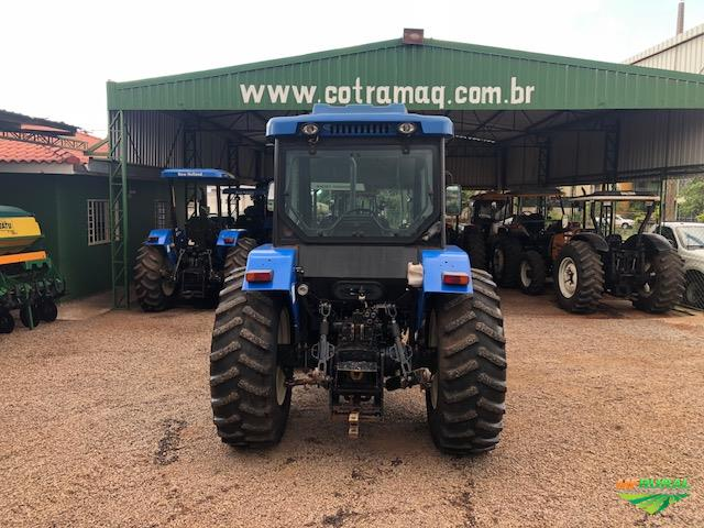 Trator New Holland TL 75 E 4x4 ano 09