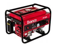 Gerador à Gasolina Monofásico 3,5 KVA 110/220v Partida Manual - B4T-3500 - Branco