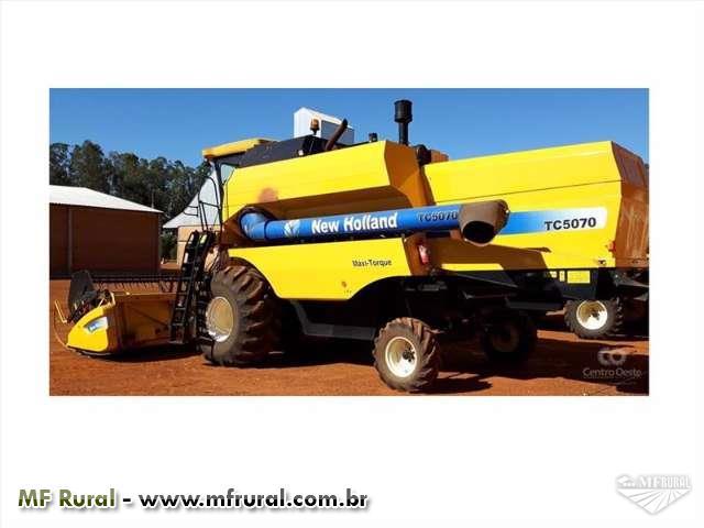 Colheitadeira New Holland TC 7020 2011 seminova negocio sem burocracia