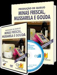 Curso Produção de Queijos Minas Frescal, Mussarela e Gouda