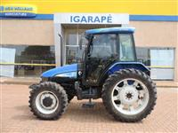 Trator New Holland TL 75 E 4x4 ano 12