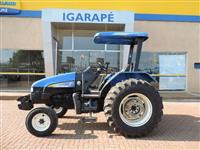 Trator New Holland TL 75 E 4x2 ano 10