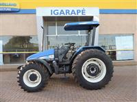 Trator New Holland TL 95 E 4x4 ano 05