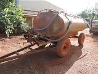 Carreta tanque 4 rodas, Fido, ano 1996.