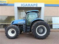 Trator New Holland T7.245 4x4 ano 12