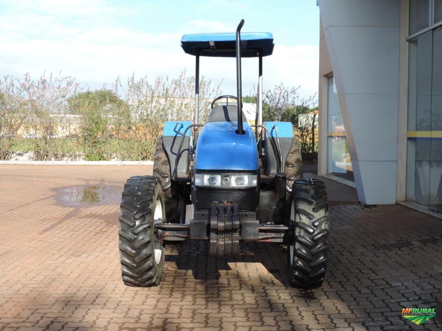 Trator New Holland TL 60 E 4x4 ano 09