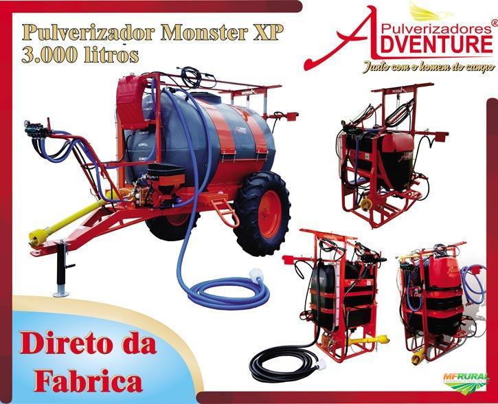PULVERIZADOR 3.300 L - XP Pastagem Pecuária - E outros Modelos - De Fabrica! NOVO