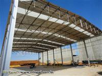 Galpão e Estrutura Metálica 1000m² / 600m² /500m² /300m² /200m² á pronta entrega!