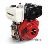 Motor BD-7.0 C.V - Branco - Diesel - Partida manual/elétrica