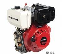 Motor BD-10.0 - Branco - Diesel - Partida manual/elétrica