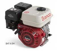 Motor B4T-6.5H - Branco - Gasolina - Partida manual/elétrica - com/sem filtro de ar