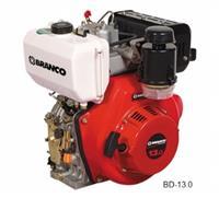 Motor BD-13.0 - Branco - Diesel - Partida manual/elétrica