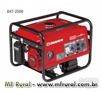 Gerador - 2.2 KVA - Branco - Gasolina - Partida manual/elétrica
