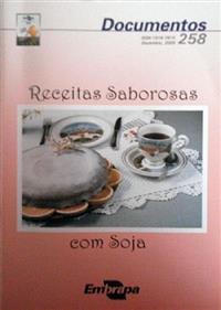 Livros Receitas Saborosas com Soja