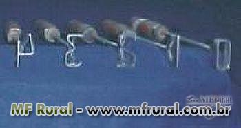 Jogo de Números - Marcadores de gado -  8 a 10cm -  (ABCZ/Normal)