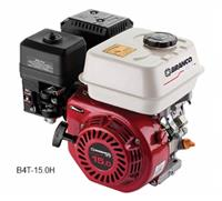 Motor B4T-15.0H - Branco - Gasolina - Partida manual/elétrica