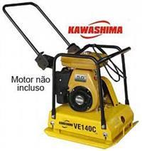 Placa Compactadora de Solo Kawashima VE 140-C