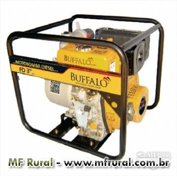 """Motobomba Bufallo BFD 3"""" x 3 - Autoescorvante - 7.0cv - Partida manual/elétrica - Diesel"""