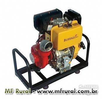 Motobomba Buffalo BFDE - Incêndio - 10.0cv - Partida elétrica - Diesel
